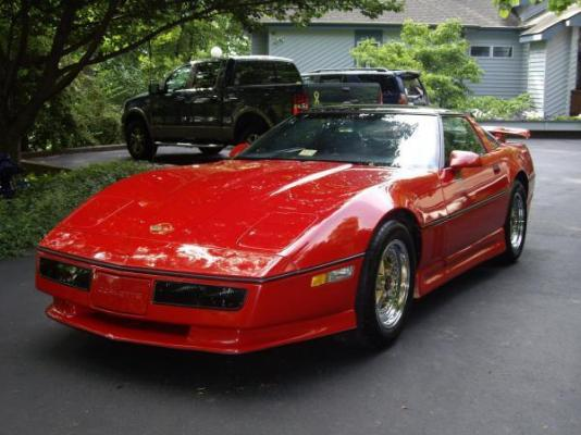 Immaculate 1985 Modified Corvette
