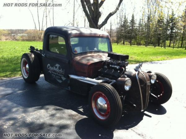 Dodge Pickup Rat Rod E
