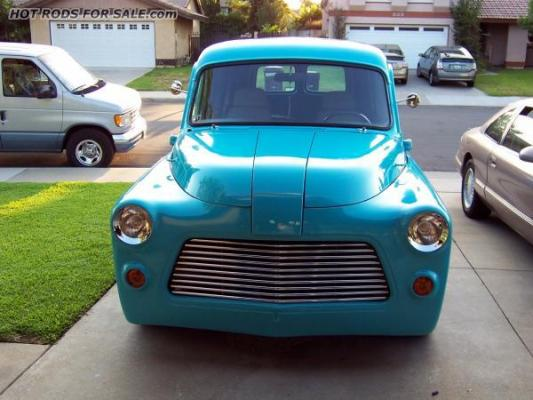 1954 Dodge Panel Custom Street Rod
