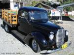 1938 FORD STAKE BED,BLACK WITH 502 CRATE CHEV.