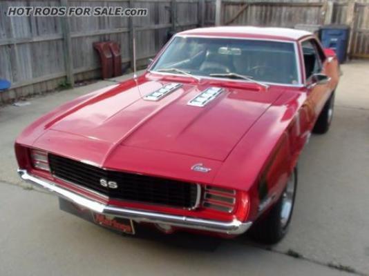 1969 Camaro SS 396 (X66 code) Factory 4-spd