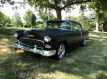 SOLD - RARE PRO TOURING HOT ROD 1955 CHEVY 2DR HT MUST SELL