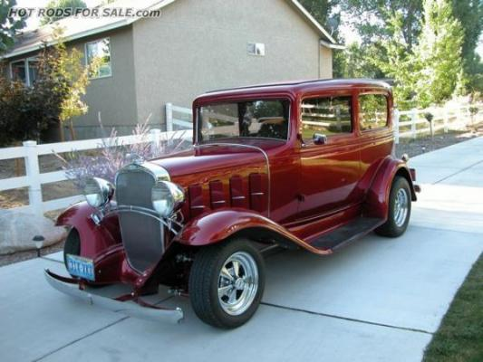 1932 Chevy 2-Dr Sedan