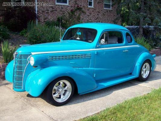 SOLD - 1938 Chev Coupe Street Rod