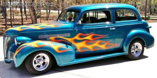 SOLD - 1939 Chevy Sedan