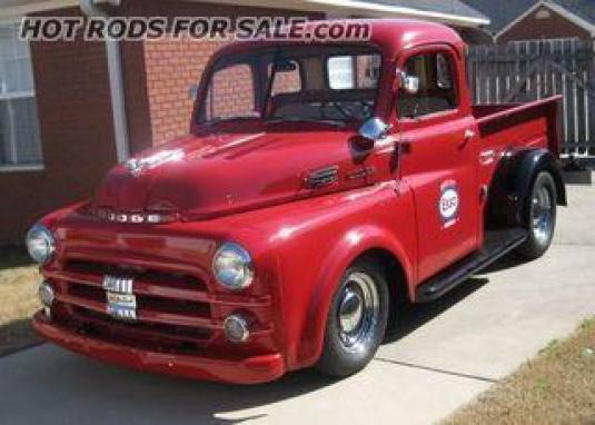 1952 Dodge 5 window short bed