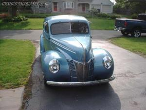 SOLD - 1940 Ford Deluxe Coupe