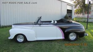 SOLD - 1947 FORD CONVERTIBLE STREET ROD