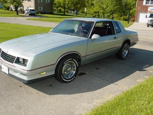 SOLD - 1986 Monte Carlo SS