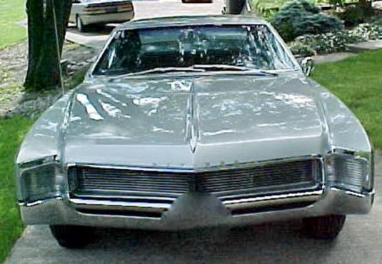 1966 Buick Riviera (Silver Green exclusive color for '66)