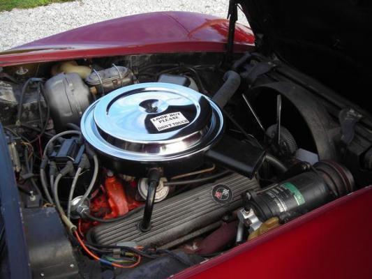 SOLD - 1975 Corvette Convertible
