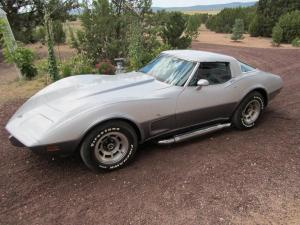 1978 Silver Anniversary Corvette 4-Speed numbers matching stroked