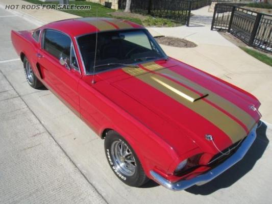 1965 Ford Mustang Hertz 2+2