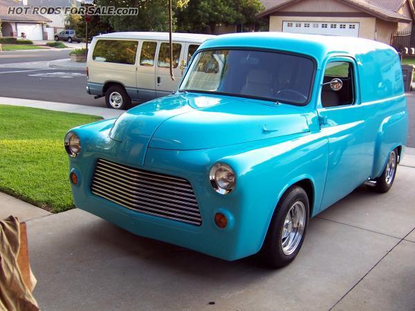 Mopar Trucks 1954 Dodge Panel Custom Street Rod