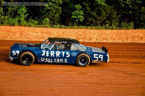 Race Car 1964 Chev Malibu Vintage Dirt Track Car