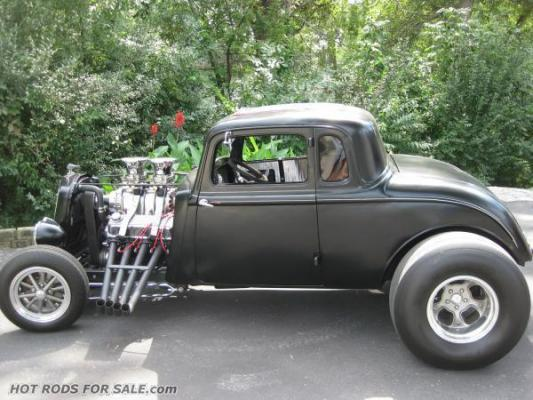 SOLD - 1934 Plymouth five-window coupe