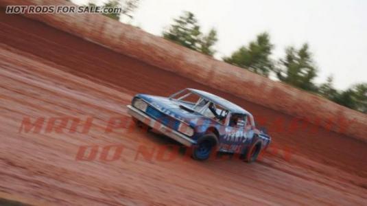 1964 chev malibu vintage dirt track car