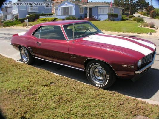 1969 Z28 Camaro Unrestored Survivor