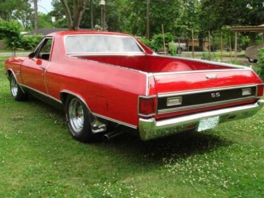 1971 El Camino 396 SS