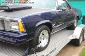 1980 El Camino Drag Car and Trailer