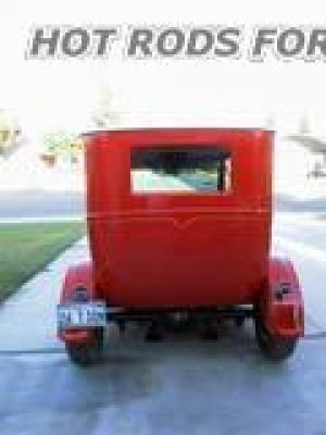 1926 ford 2dr sedan show and go