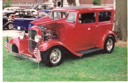 1932 FORD SEDAN ALL STEEL
