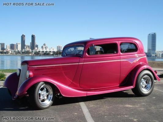 SOLD - 1933 Ford Vicky Sedan