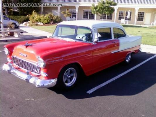 SOLD - 1955 Chevy 210 Street-rod