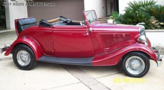 '34 FORD - Henry Ford STEEL Body!