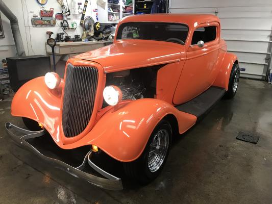 1934 Ford 3 Window Coupe SOLD