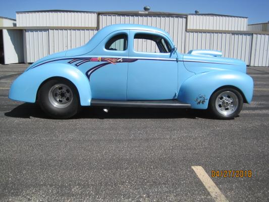 40 FORD HOT ROD/SHOW CAR
