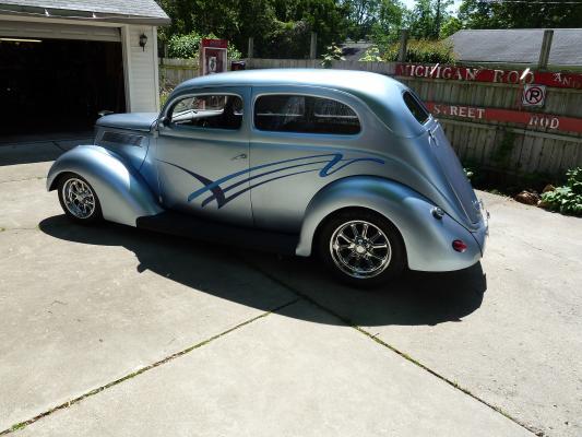 1937 Ford Slant Back